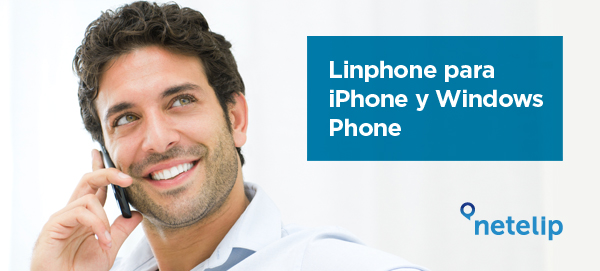 linphone para iPhone y Windows Phone