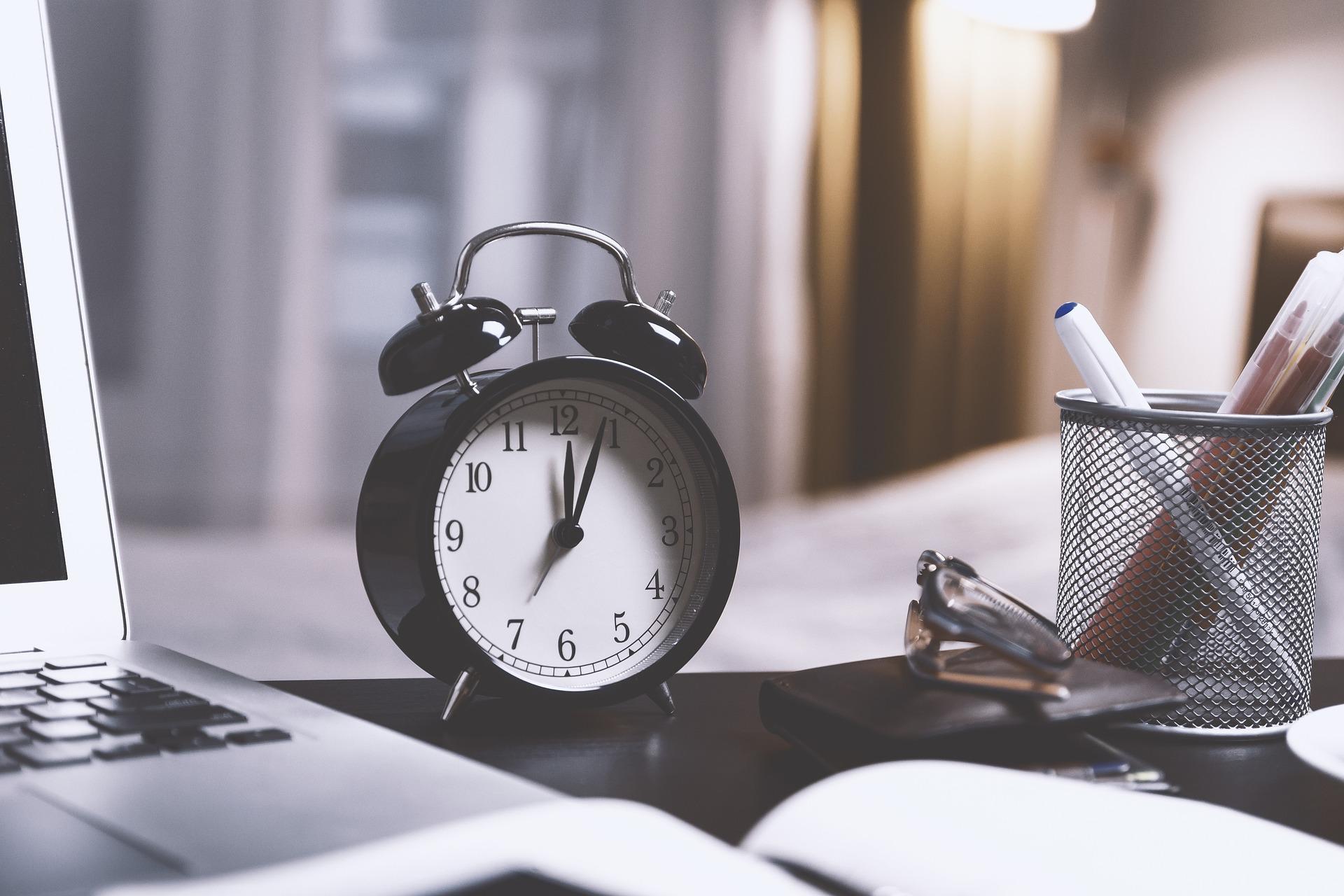 Configura los horarios desde netelip