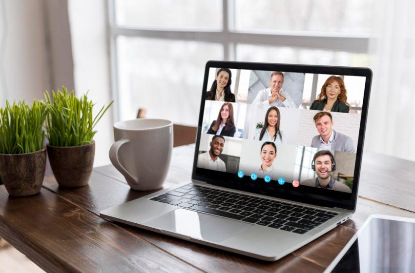 vConference: Reuniones en línea y chat trabajando desde casa