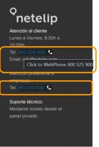 WebPhone netelip