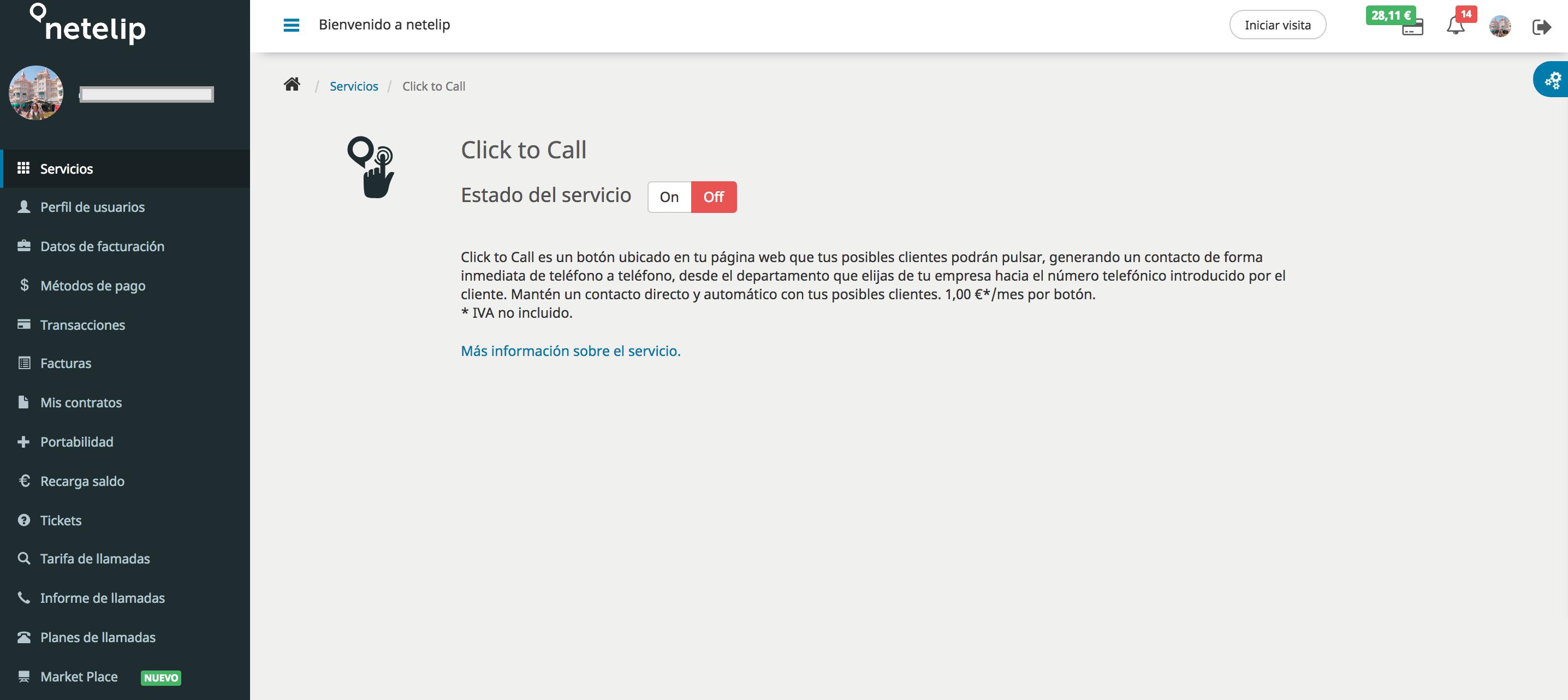 Click to Call en netelip