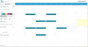 Eventos en vDrive desde calendario